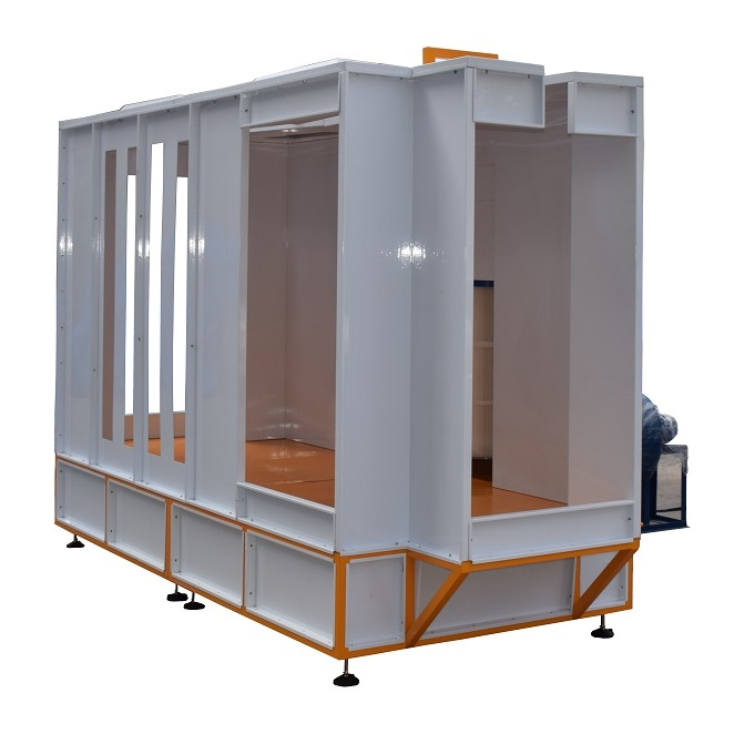 Automatic Powder Coating Booth for LPG Tank
