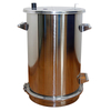 Stainless Steel Powder Coating Hopper, Big Powder Coating Fluidizing Hopper