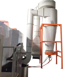 Mono-cyclone Automatic Powder Spray Booth