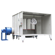 Batch Powder Coating Booth, Powder Coating Recovery Booth