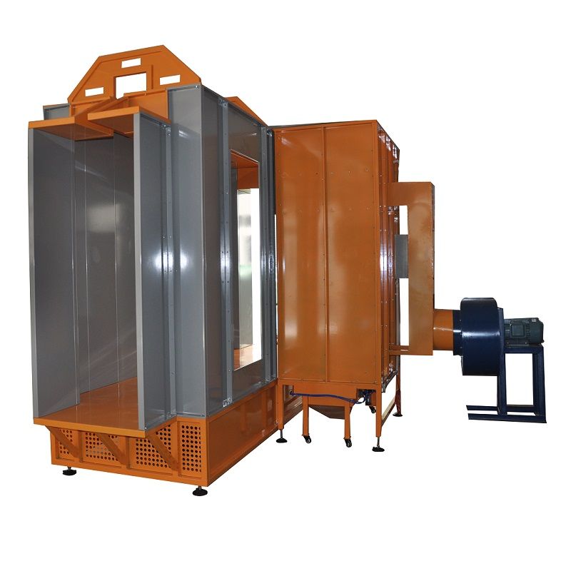 Pass Through Type Powder Coating System Package for Door, Window, Frame