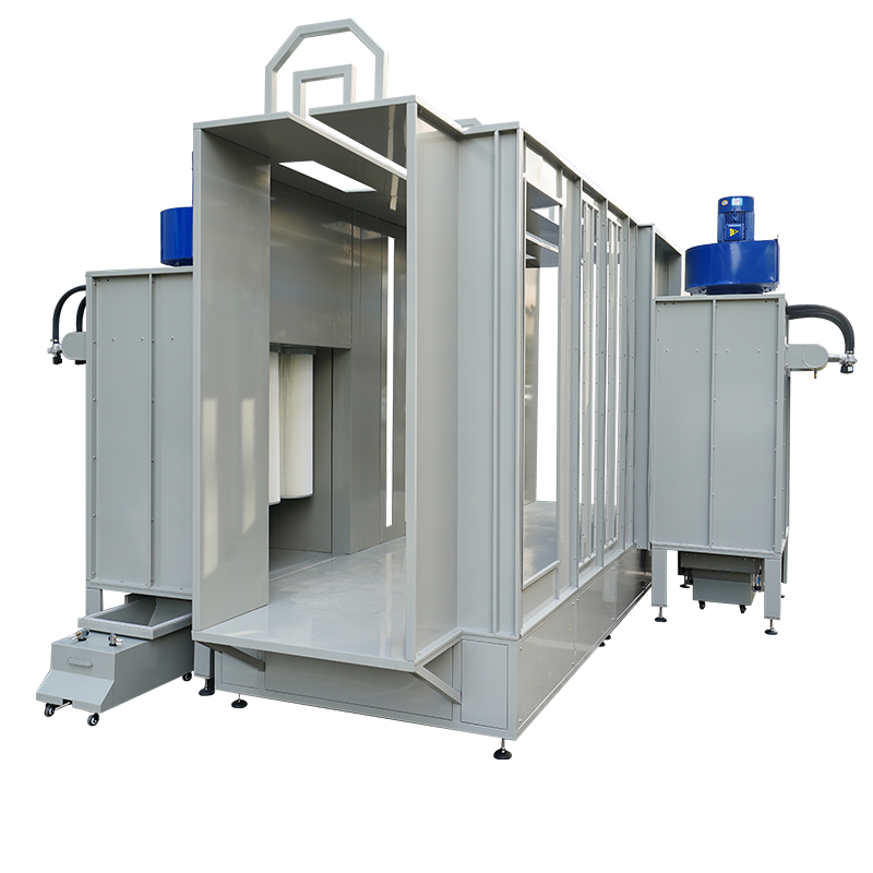 Automatic Powder Coating Booth for Single Color