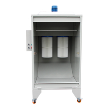 Manual Powder Spray Booth, Small Powder Coat Spray Booth
