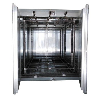 Batch Box Powder Coating Oven with Top Tracks