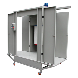 Pass Through Powder Coating Booth
